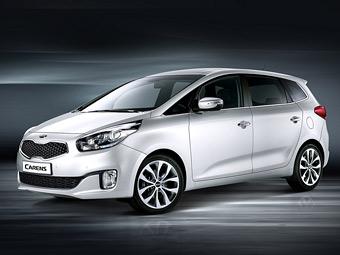 Компания Kia представила компактвэн Carens нового поколения