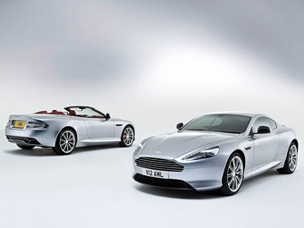 Aston Martin обновил суперкар DB9