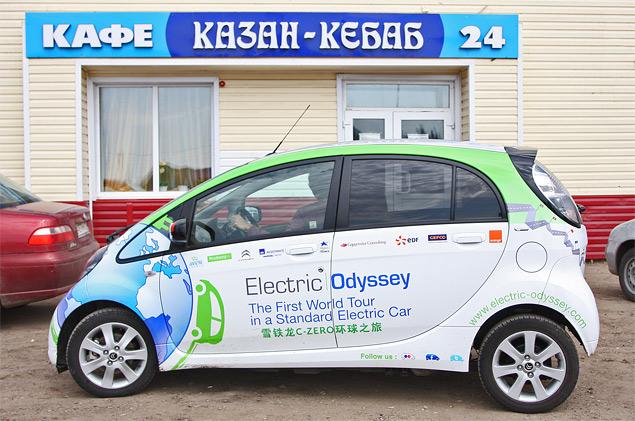 Как обогнуть Землю на электромобиле. Фото 7