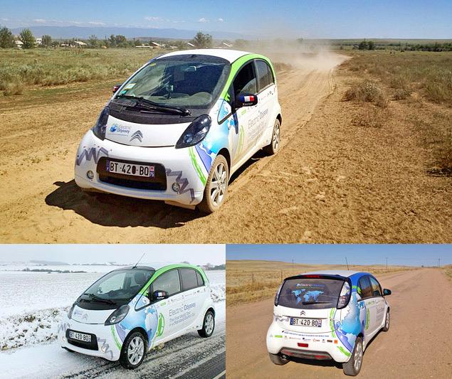 Как обогнуть Землю на электромобиле. Фото 8