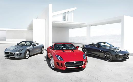 Родстер Jaguar F-Type рассекретили досрочно