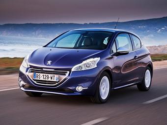 Peugeot 208 вошел в тройку самых продаваемых автомобилей Европы