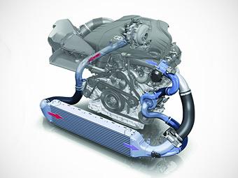 Audi начала разработку электрического турбонагнетателя