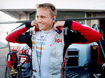 Команда Marussia назначила нового резервного пилота