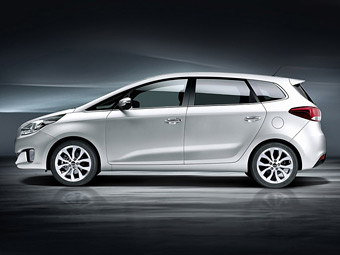 Британские журналисты раздобыли подробности о новом Kia Carens