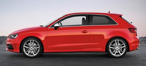 """""""Заряженная"""" версия Audi S3 нового поколения сможет разгоняться с нуля до ста километров в час за 5,1 секунды"""