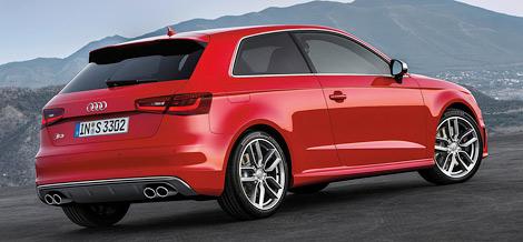 """""""Заряженная"""" версия Audi S3 нового поколения сможет разгоняться с нуля до ста километров в час за 5,1 секунды. Фото 1"""