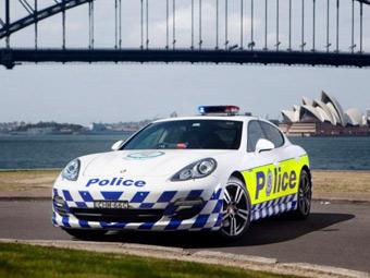 Австралийским полицейским выдали патрульный Porsche Panamera