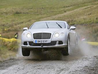 Top Gear проехал Ралли Уэльса на серийном Bentley Continental GT