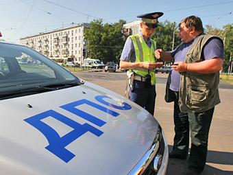 Московские гаишники будут выписывать штрафы в электронном виде