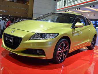 Обновленный гибрид Honda CR-Z стал мощнее