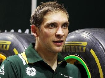 Петров разбил машину в последней тренировке Гран-При Сингапура