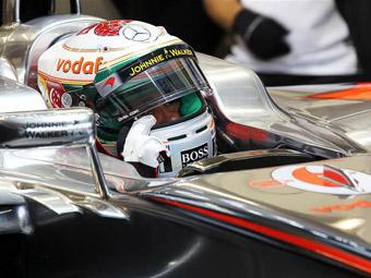 Льюис Хэмилтон выиграл квалификацию Гран-при Сингапура