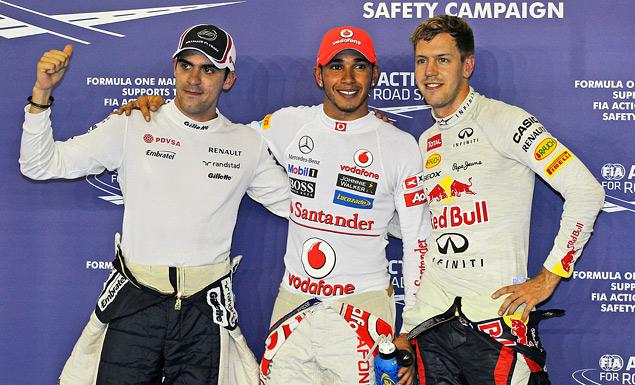Сход Хэмилтона подарил Феттелю победу на Гран-при Сингапура
