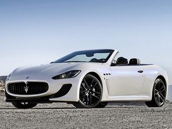 Maserati привезет в Париж самый мощный кабриолет GranCabrio
