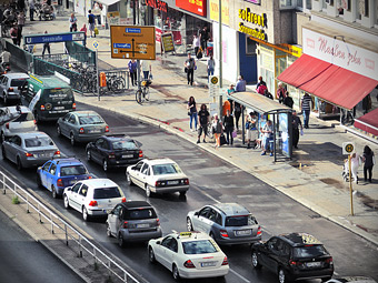 Жители развитых стран стали меньше ездить на автомобилях