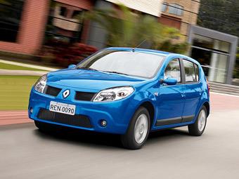 Компания Renault продала в России 100-тысячный Sandero