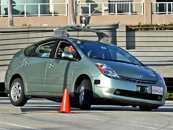 Власти Калифорнии легализовали автомобили-роботы