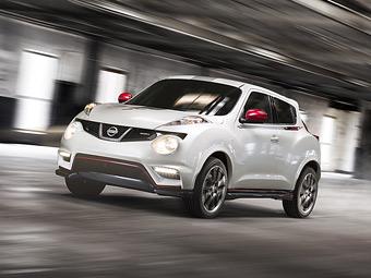 """Серийный """"заряженный"""" Nissan Juke получит 215-сильный турбомотор"""
