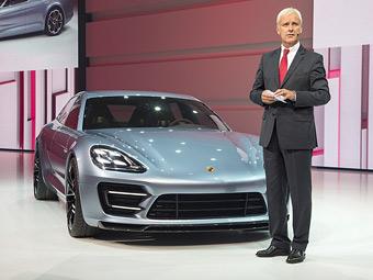 Компания Porsche построила гибридный универсал Panamera