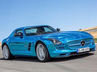 Самой мощной моделью AMG стал электрокар Mercedes-Benz