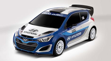 Автомобиль дебютирует в серии WRC в 2013 году