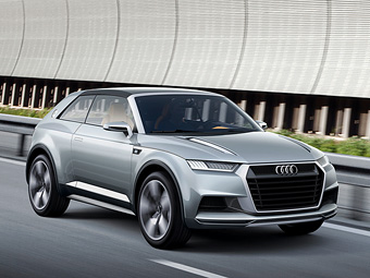 Audi оснастила свой самый маленький кроссовер съемной крышей