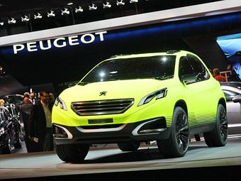 Кроссовер Peugeot 2008 появится в серии до конца года