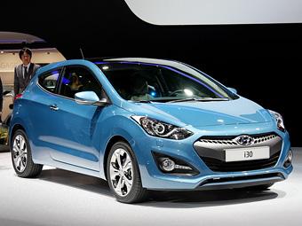 """""""Заряженную"""" версию Hyundai i30 покажут весной 2013 года"""