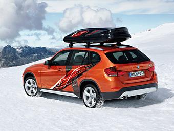 Кроссовер BMW X1 получит версию для горнолыжников