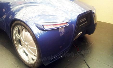 Прототип получил 6-литровый дизель V12. Фото 1