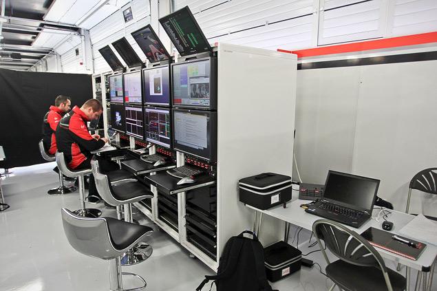 Как устроена работа команд Формулы-1 во время гонок. Фото 10