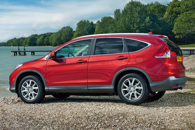 Тестируем новое поколение кроссовера Honda CR-V
