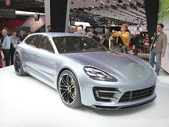 Porsche запустит универсал Panamera в серию