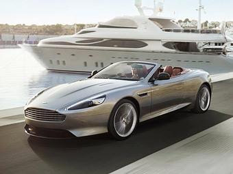 Aston Martin начал принимать в России заказы на обновленный DB9