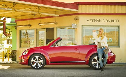 Открытый VW Beetle представлен официально