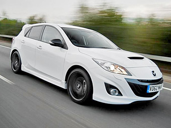 Хот-хэтч Mazda3 MPS обновился