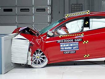 В США проверили безопасность четырех новых автомобилей