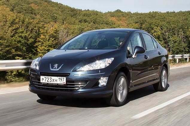 Тест-драйв бюджетного седана Peugeot 408 с дизельным мотором. Фото 7