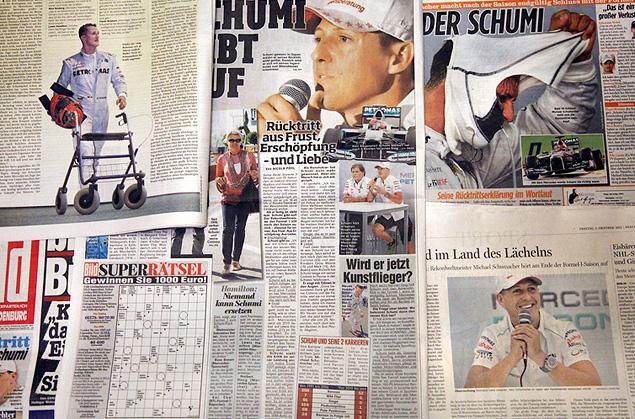 Что говорят об уходе Шумахера его коллеги и зарубежная пресса