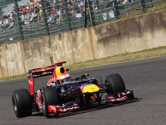 Себастьян Феттель выиграл квалификацию Формулы-1 в Японии