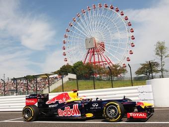 Себастьян Феттель одержал победу в японской гонке Формулы-1