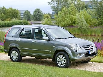 Honda отзовет в России 12,5 тысячи кроссоверов CR-V