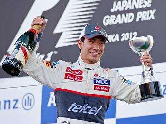 Sauber решит будущее Кобаяси без оглядки на его подиум в Японии