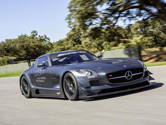 Ателье AMG выпустит для гонок пять эксклюзивных Mercedes-Benz SLS AMG