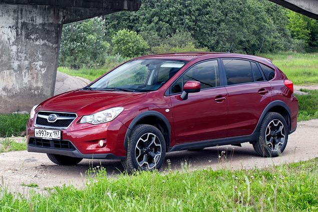 Длительный тест Subaru XV: по бездорожью