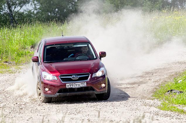 Длительный тест Subaru XV: по бездорожью. Фото 2