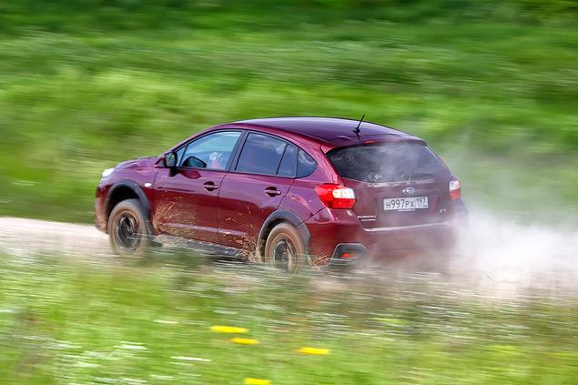 Длительный тест Subaru XV: по бездорожью. Фото 4