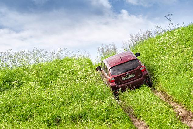 Длительный тест Subaru XV: по бездорожью. Фото 5