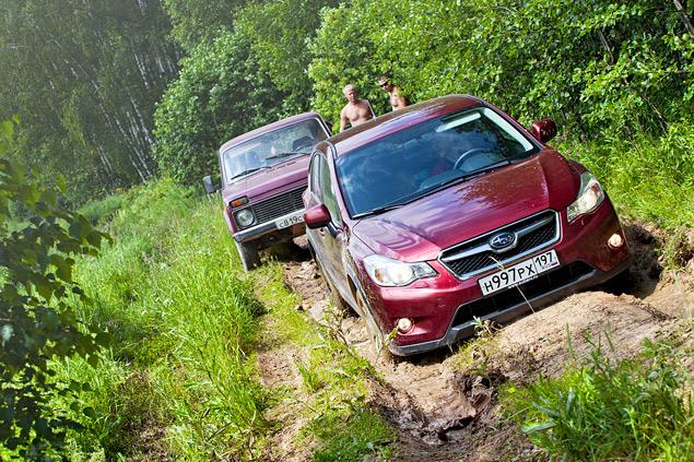 Длительный тест Subaru XV: по бездорожью. Фото 6